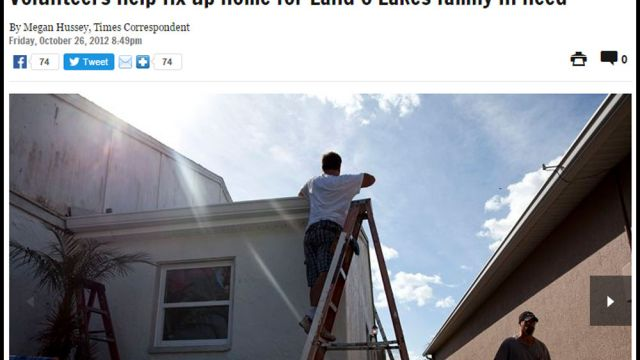 Tampa Bay Times – Hope For Homes