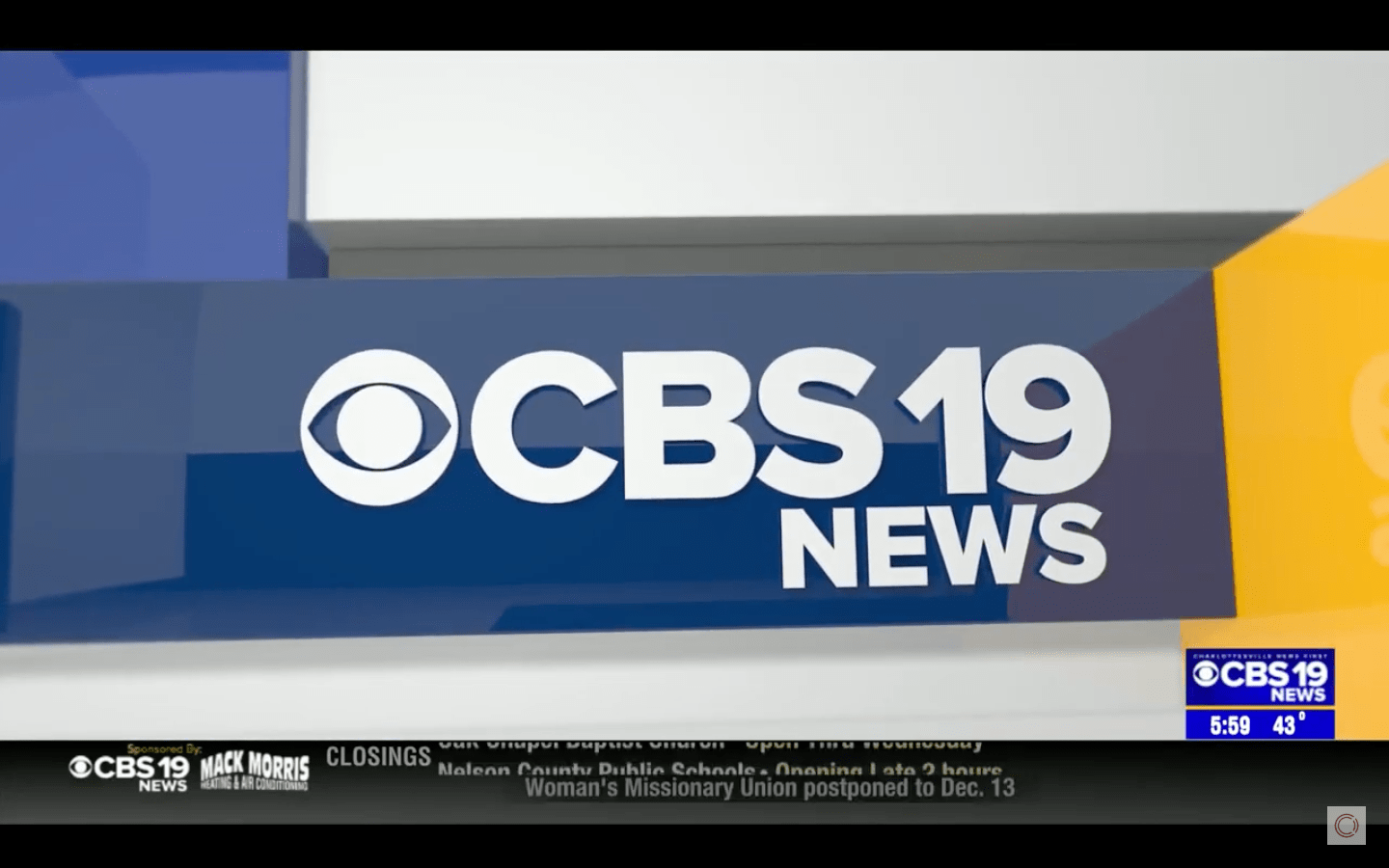 CBS 19 News Charlottesville – Laundry Project Story