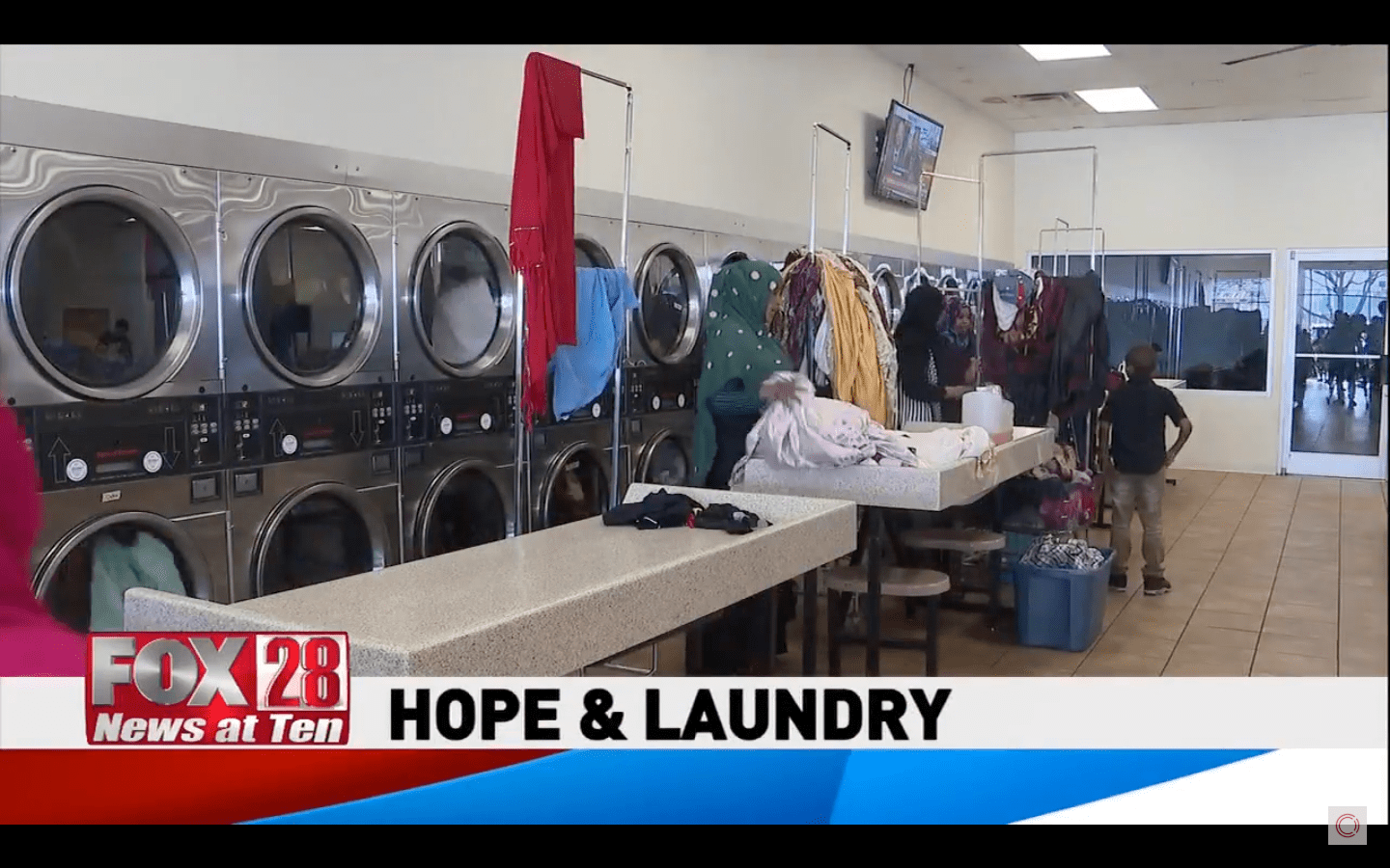Fox 28 Columbus – Laundry Project Story
