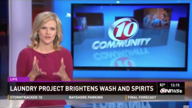 WTSP 10 Community – Laundry Project