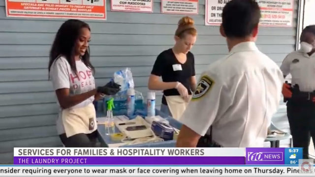 WTSP Channel 10 – HCSO x Laundry Project COVID-19 Relief Story