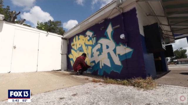 Fox 13 Tampa Bay – Laundry Project x CLEAN Mural Story