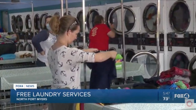 Fox 4 Now – Fort Myers COVID-19 Laundry Project Relief Story
